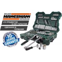 Купить Профессиональный набор гаечных ключей Mannesmann 215 pcs - с доставкой по Украине