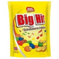 Арахис в шоколаде Mister Choc Big Hit Milk Chocolate Peanuts 250г