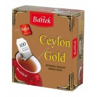 Чай Bastek Ceylon Gold пакетированный 100пак