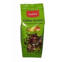 Чай Bastek Green Island листовой зеленый с фруктами 100г