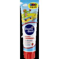 Детская зубная паста до 6 лет Dontodent Kids 100мл