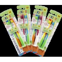 Купить Детская зубная щетка Dontodent Kids 2 шт - с доставкой по Украине