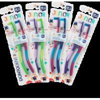 Купить Детская зубная щетка после 6 лет Dontodent Junior 6+ 2 шт - с доставкой по Украине
