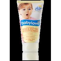 Детский крем для лица - защита от ветра и непогоды Babylove Wind & Wetter 75мл