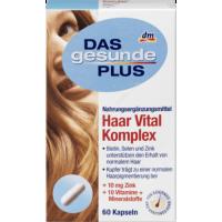 Комплекс витаминов для здоровых волос, ногтей и кожи Mivolis - Das gesunde Plus HAAR Vital Komplex, 60 шт. - 4058172308536