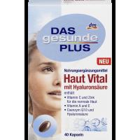 Комплекс витаминов и минералов для кожи, волос и ногтей Das gesunde Plus Haut Vital 40табл.