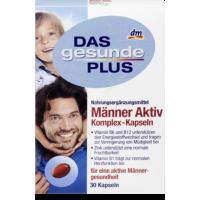 Комплекс витаминов и минералов для мужчин Mivolis - Das Gesunde Plus 30таб - 4010355570192