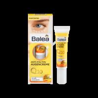 Крем для кожи вокруг глаз Q10 против морщин Balea Anti FaltenAugencreme 15 мл