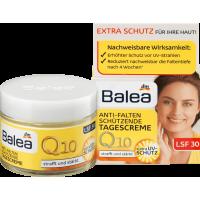 Крем для лица с Q10 против морщин дневной (от 30 до 50 лет), Balea Q10 Anti-Falten Tagescreme, 50 мл