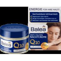 Крем для лица с Q10 против морщин ночной (от 30 до 50 лет), Balea Nachtcreme Q10 Anti-Falten, 50 ml