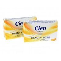 Мыло туалетное мед с молоком Cien Beauty Soap Milch&Honig (150г)