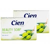 Мыло туалетное оливка Cien Cremeseife Natural Oils (150г)