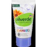 Натуральная зубная паста-гель Alverde Zahngel Kinder, 50мл
