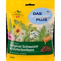 Оригинальные швейцарские травяные леденцы с Медом Mivolis - Das gesunde Plus Original 125г
