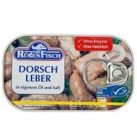 """Печень трески """"Rugen Fisch"""" (115г)"""