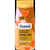 Шампунь для ежедневного использования с сладким карамельным ароматом Balea Jeden Tag Toffee Love 300мл