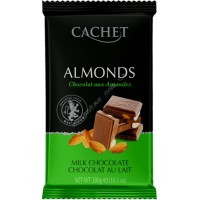 Шоколад Cachet Milk Chocolate 32% with Almonds (300г)