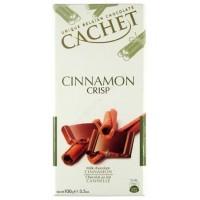 Шоколад Cachet Milk Cinnamon Crisp (100г)
