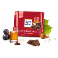 Шоколад Ritter Sport с ямайским ромом (100г)