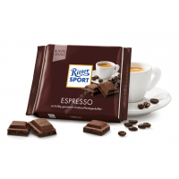 Шоколад Ritter Sport со вкусом эспрессо (100г)