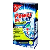 Таблетки для чистки унитаза Gut&Günstig Power WC tabs 16 шт