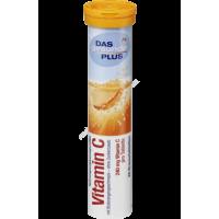 Витамины-шипучки Витамин С для укрепления иммунитета DAS gesunde PLUS Vitamin C 20 шт
