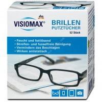 Салфетки для протирания очков, планшетов ,телефонов, фототехники - VISIOMAX Brillenputztücher 52шт