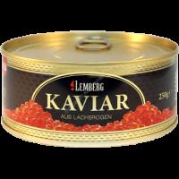 Икра горбуши Золото Аляски Lemberg Kaviar Alaska Gold 250г.