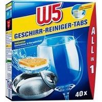 Таблетки для посудомоечной машины W5, 40 шт