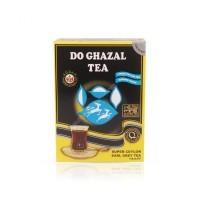 Чай Akbar Do Ghazal tea листовой цейлонский с бергамотом 100г