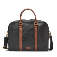 Мужская деловая сумка Fossil EVAN WORKBAG - цвет черный