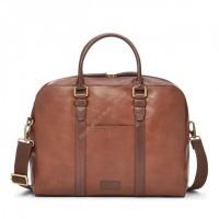 Мужская деловая сумка Fossil EVAN WORKBAG - цвет коричневый