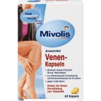 Капсулы для вен Миволис, 60 шт., Venen-Kapseln Mivolis60 St - 4058172000805