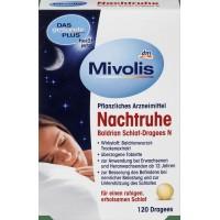 Mivolis Nachtruhe (Миволис ночной отдых – таблетки валерианы, покрытые оболочкой), 120 драже