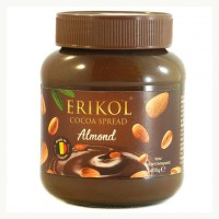 Шоколадно-ореховая паста Erikol Almond 400гр