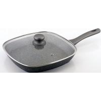 Сковорідка-гриль Solingen CS Kochsysteme Emden 060688 28 см з кришкою