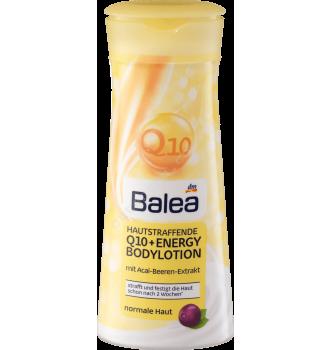 Купить Антивозрастной увлажняющий лосьон для тела с Q10 и Омега комплексом Balea Hautstraffende Bodylotion Q10 400мл - с доставкой по Украине