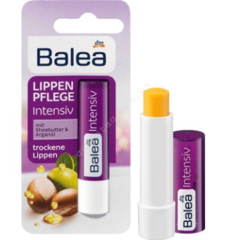 Купить Бальзам для губ Интенсивный уход с маслом ши и аргана Balea Lippenpflege Intensiv, 4,8г - с доставкой по Украине