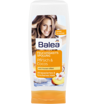 Купить Бальзам - кондиционер для сухих и поврежденных волос Balea Feuchtigkeit 250мл - с доставкой по Украине