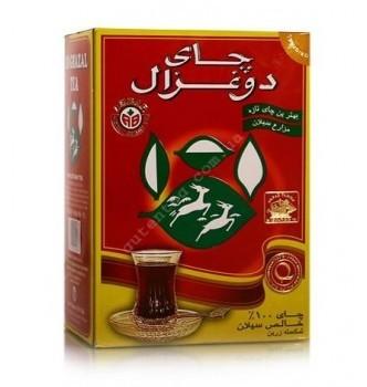 Купить Чай Akbar Do Ghazal tea листовой цейлонский черный чистый 500г - с доставкой по Украине