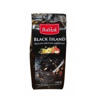 Купить Чай Bastek Black Island листовой черный с фруктами 100г - с доставкой по Украине