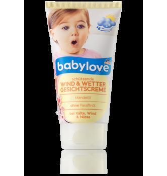 Купить Детский крем для лица - защита от ветра и непогоды Babylove Wind & Wetter 75мл - с доставкой по Украине