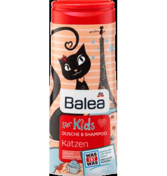 Купить Детский шампунь без слез Balea für Kids Katzen 300мл - с доставкой по Украине