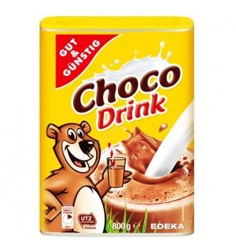 Купить Детское шоколадное быстрорастворимое какао G&G Сhoko Drink 800 гр - с доставкой по Украине
