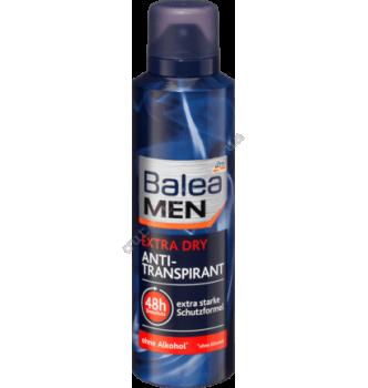Купить Дезодорант антиперспирант аэрозольный мужской Balea men EXTRA Dry 200 мл - с доставкой по Украине