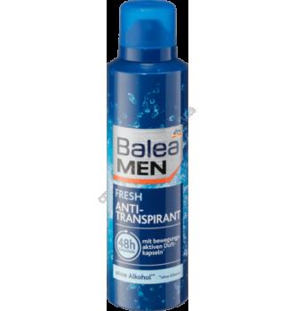Купить Дезодорант антиперспирант мужской Balea Fresh 200 мл - с доставкой по Украине