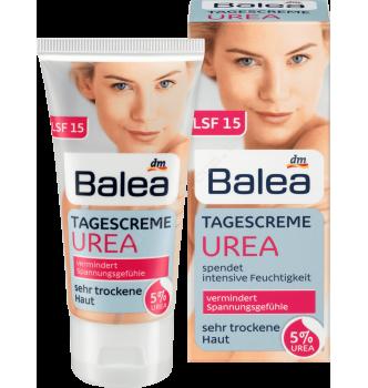 Купить Дневной крем для очень сухой кожи лица с 5% косметичнской мочевиной Balea Urea Tagescreme mit 5 % Urea 50 мл - с доставкой по Украине