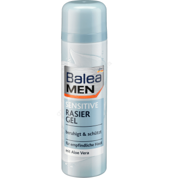 Купить Гель для бритья Нежное прикосновение для чувствительной кожи Balea Men Sensitive Gel 200 мл - с доставкой по Украине