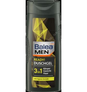 Купить Гель для душа Balea Men Ready 3 in 1 300мл - с доставкой по Украине
