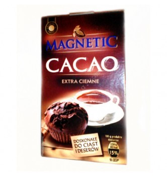 Купить Какао Magnetic Cacao Extra Ciemne 200г - с доставкой по Украине